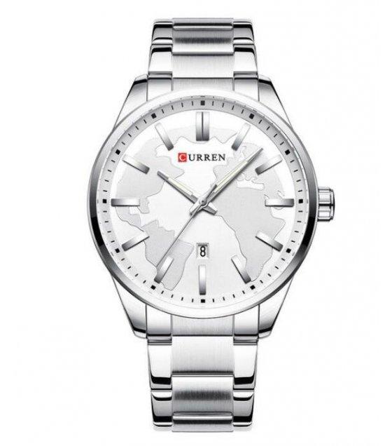 W3214 - Curren Men's Simple Steel Fashion Watch