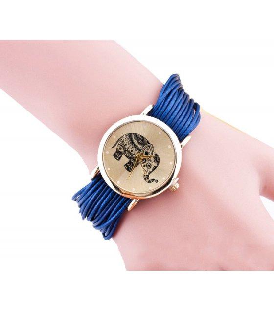 W3215 - Geneva Woven Bracelet Watch