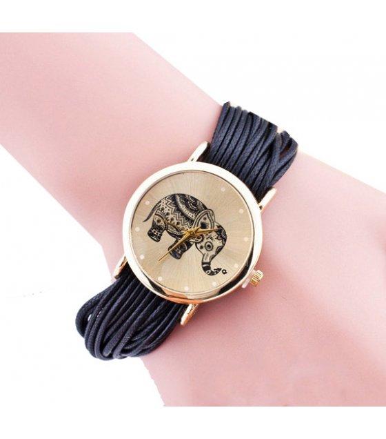 W3216 - Geneva Woven Bracelet Watch