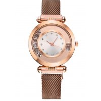 W3219 - Suction magnet Milan mesh belt watch