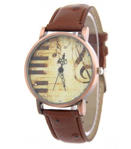 W3221 - Retro Personality Piano Note Women's Watch