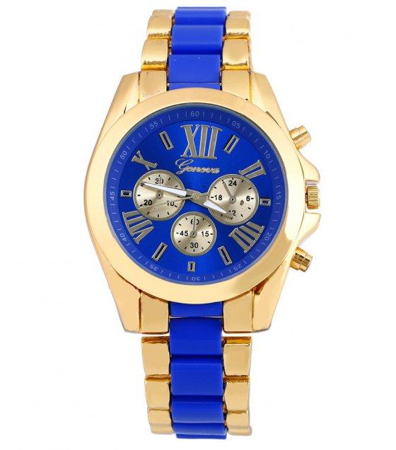 W3229 - Two Color Geneva Roman Watch