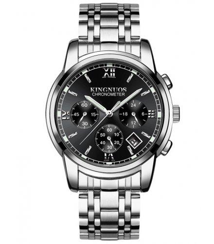 W3234 - Casual Men's Fashion Steel Belt Watch