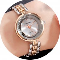 W3236 - Ladies Roll Diamond Bracelet Watch