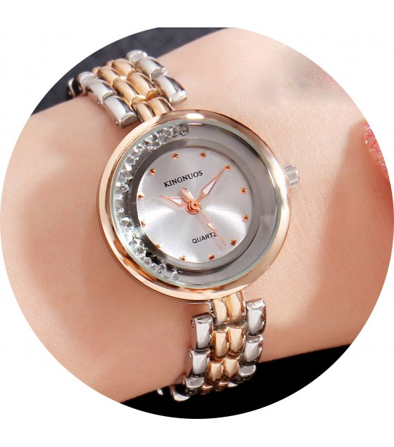 W3236 - Ladies Roll Diamond Bracelet Watch