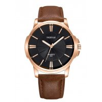 W3238 - Brown Strap Mens Watch