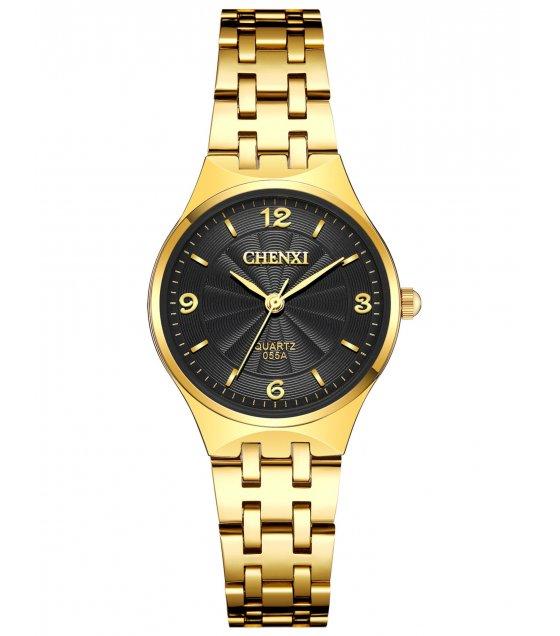 W3240 - Chenxi Gold strap Women's fashion Watch