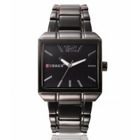 W3243 - CURREN square steel band Men's Watch