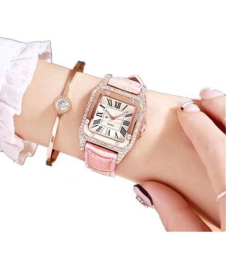 W3244 - Fashion simple square women's watch