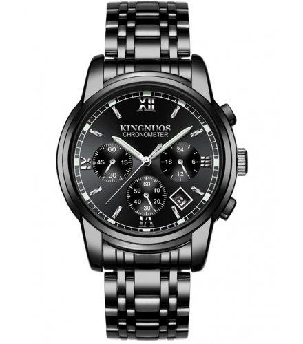 W3277 - Casual Men's Fashion Steel Belt Watch