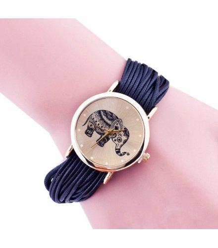 W3328 - Geneva Woven Bracelet Watch