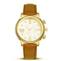 W3329 - Brown Strap Watch