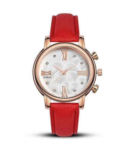 W3330 - Brown Strap Watch