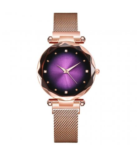 W3334 - Elegant Mesh Belt Watch