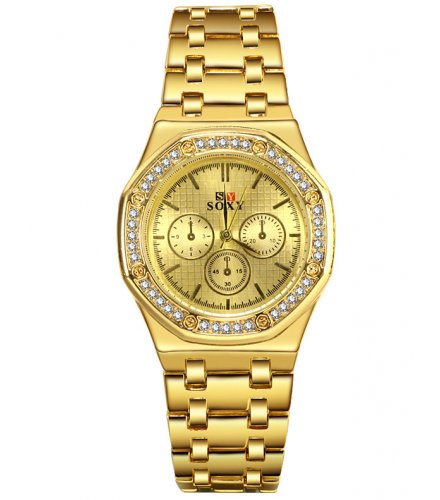 W3340 - Rhinestone Ladies Watch
