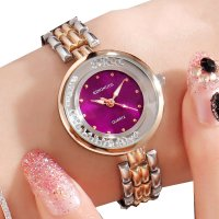 W3357 - Kingnuos Rhinestone Bracelet Watch