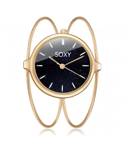 W3399 - Soxy Wire Design Bracelet Watch
