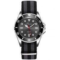W3409 - Striped Braided Fashion Watch