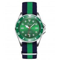 W3410 - Striped Braided Fashion Watch