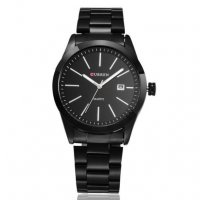 W490 - Black Steel Watch