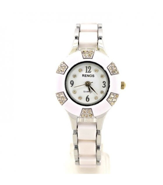 W660 - White Surface Luxury Watch