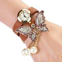 W722 - Butterfly belt design watch