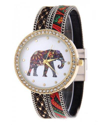 W824 - Elephant Print Watch