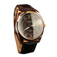 W838 - Roman scale male watch