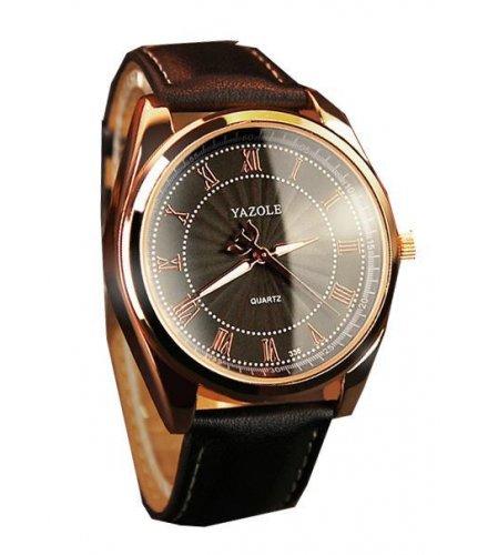 W838 - Roman scale male watch