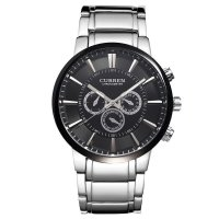 W901 - Black Surface Large Dial Mens