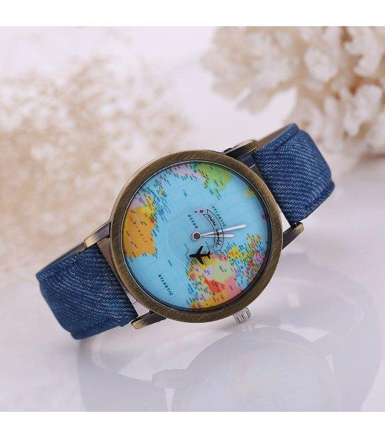 W924 blue world map watch sri lanka w924 blue world map watch gumiabroncs Images