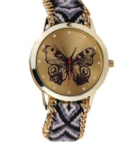 W926 - Wool Butterfly Watch