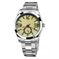 WSM170 - Elegant silver mens watch