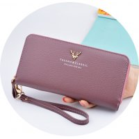 WW065 - Korean Long Zipper Ladies Wallet