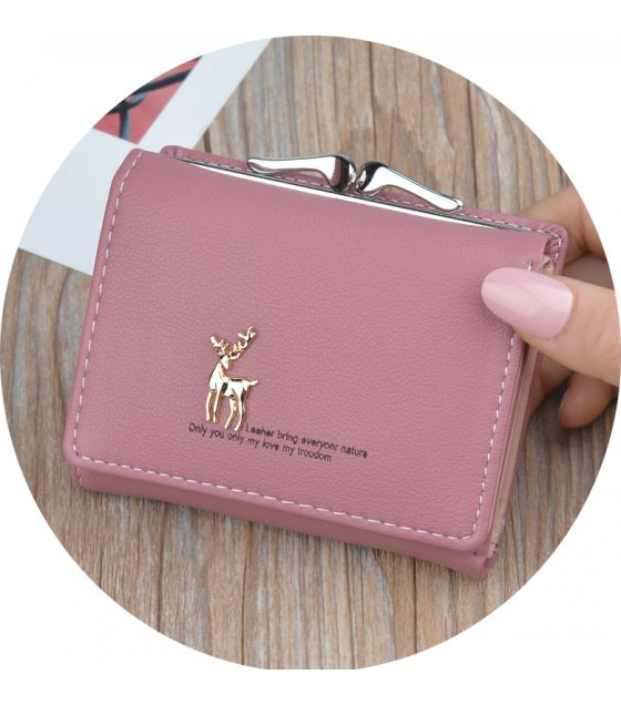 WW068 - Korean Deer Mini Ladies wallet