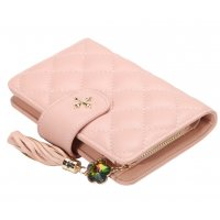 WW088 - Fashion zipper tassel ladies wallet