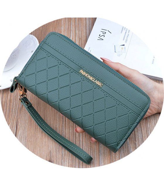 WW091 - Stylish Double Zipper Wallet
