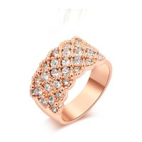 R068 - Rose Gold Diamond Ring