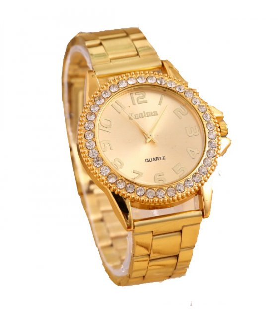 W104 - Elegant Gold Watch