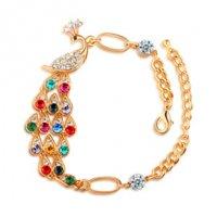B031 - Colorful Peacock Bracelelt