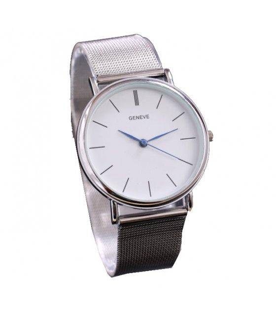 W101 - Silver Strap Elegant Watch