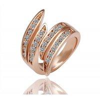 R065 - Multilayer Gold Ring