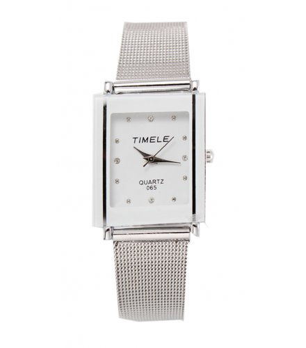 W141 - Silver Square Watch