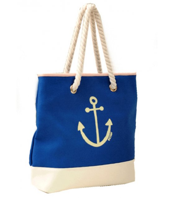 Out Of Stock H016 Blue Anchor Handbags