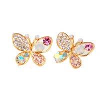 E211 - Colorful Butterfly Earrings
