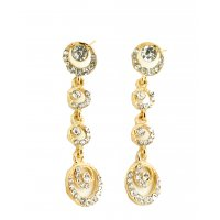 E187 - Full Circle Diamond Earrings