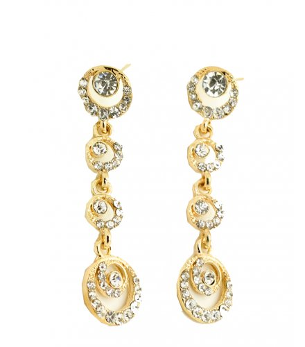 E187 - Full Circle Diamond Earrings